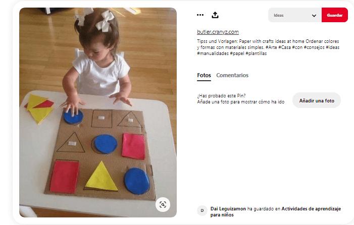 Juegos didacticos para ninos formas geometricas