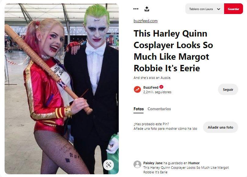 disfraz harely quinn joker