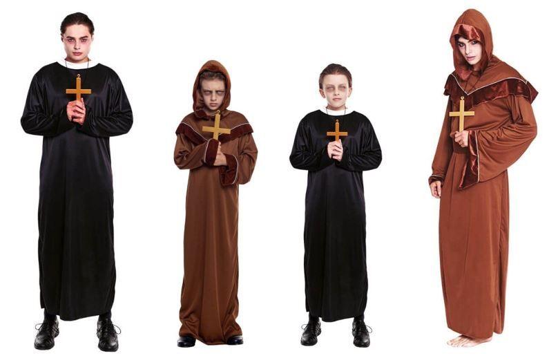 mejores disfraces curas clerigos
