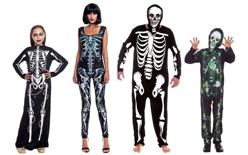 mejores disfraces esqueletos