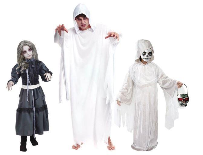 mejores disfraces fantasmas