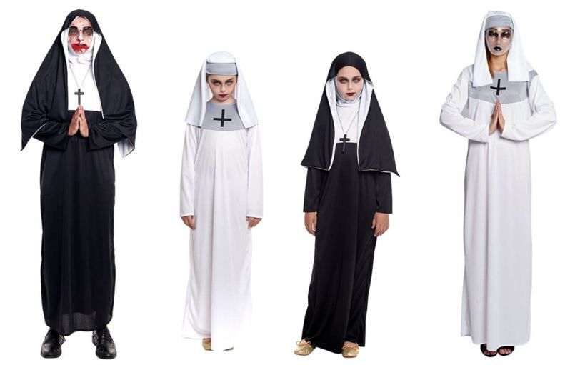 mejores disfraces la monja nun