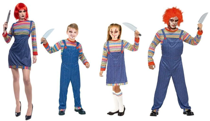 mejores disfraces muñeco asesino chucky