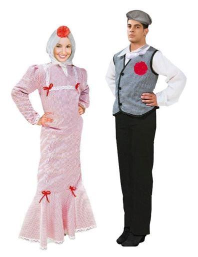 mejores disfraces pareja chulapos