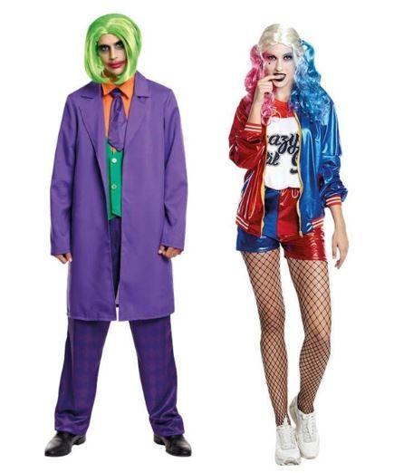 mejores disfraces pareja harley quinn joker