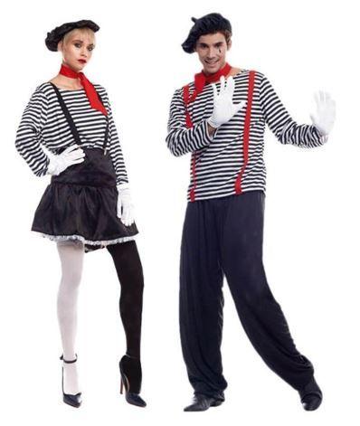 mejores disfraces pareja mimos