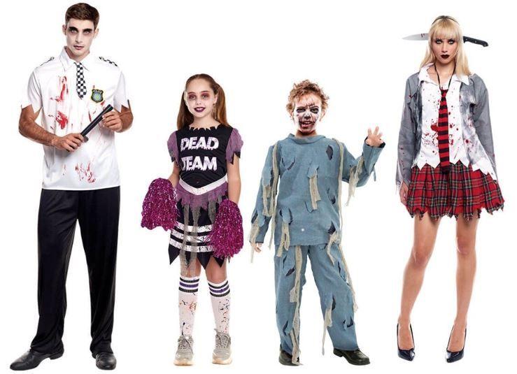 mejores disfraces zombies