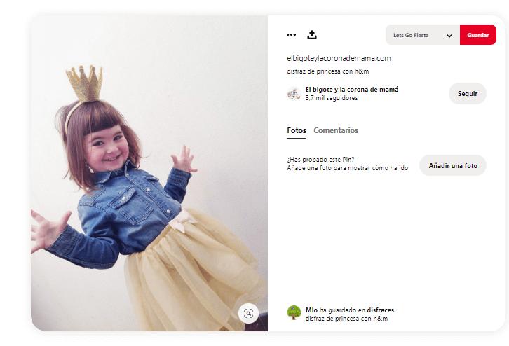 Disfraces princesas tutus niña moderna