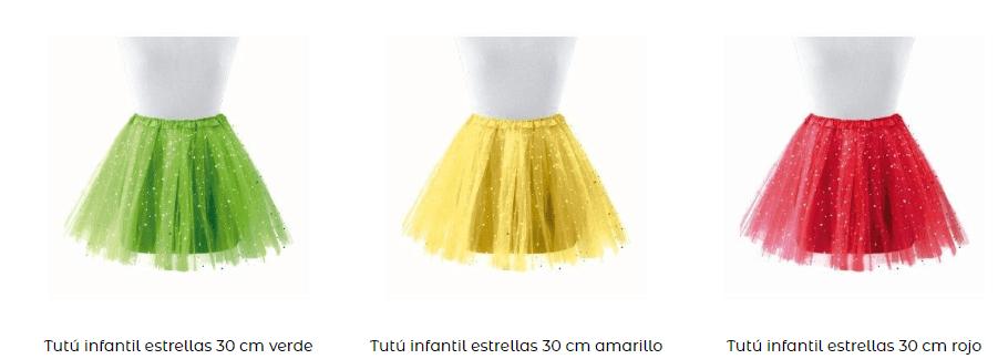 Faldas tutu princesas complementos ideoneos tipos