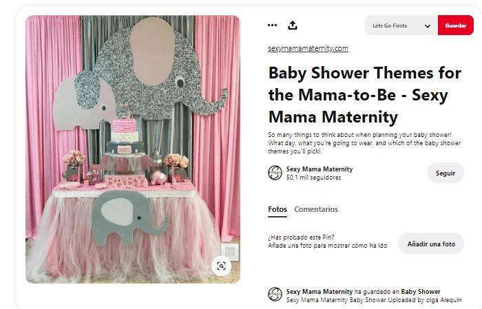 Baby shower niña velas de cumpleaños
