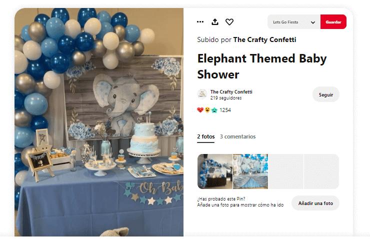 Baby shower niño velas de cumpleaños