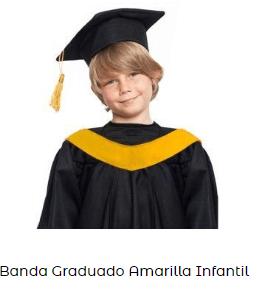 Fiesta graduacion banda disfraz infantil