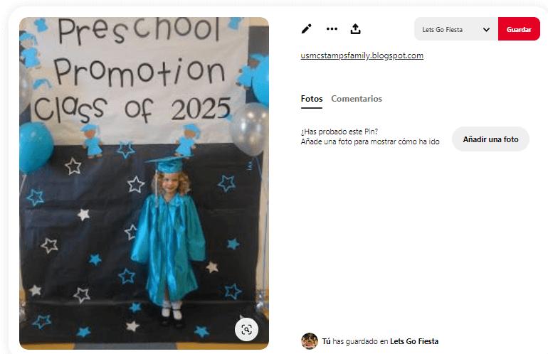 Fiesta graduacion decoracion globos infantil