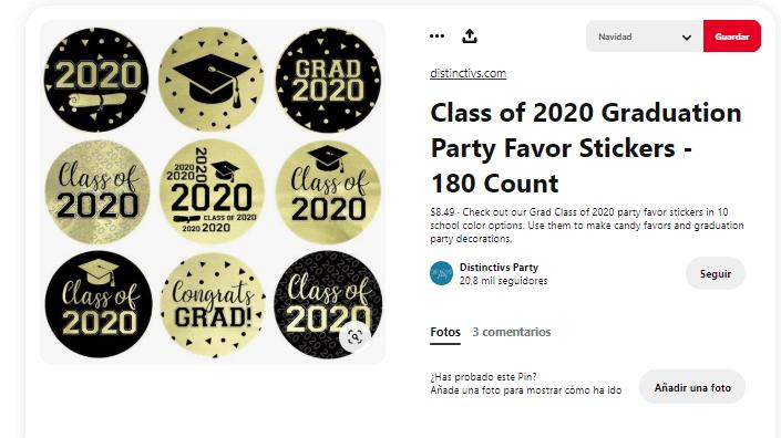 Fiesta graduacion decoracion photocall props stickers