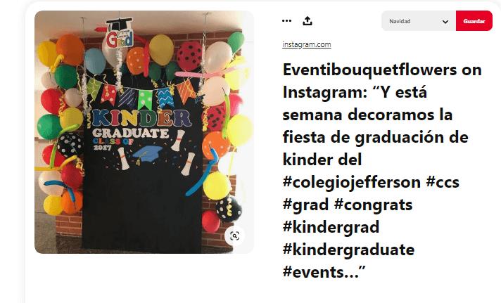 Fiesta graduacion decoracion