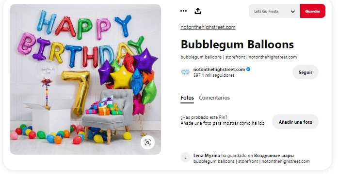 Origen Globos de cumpleaños estrella regalos