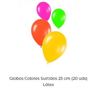 Origen Globos de cumpleaños surtido