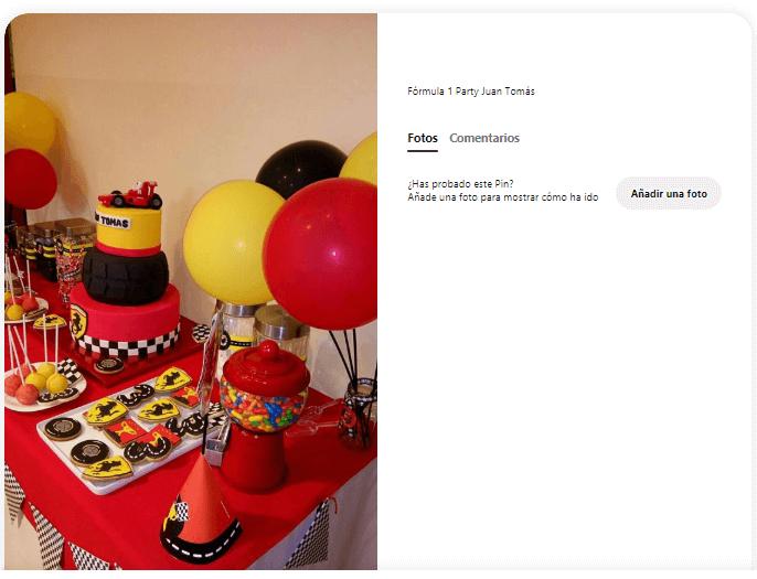 cumpleaños formula 1 velas de cumpleaños