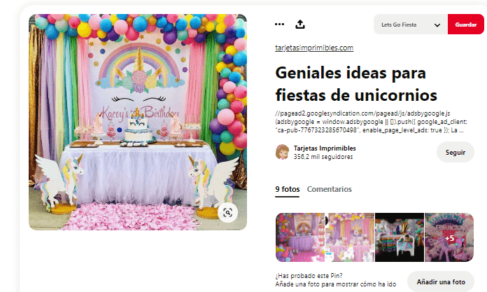decorar mesa de cumpleanos unicornio fiesta