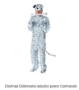 Disfraces originales durante pandemia coronavirus perro dalmata