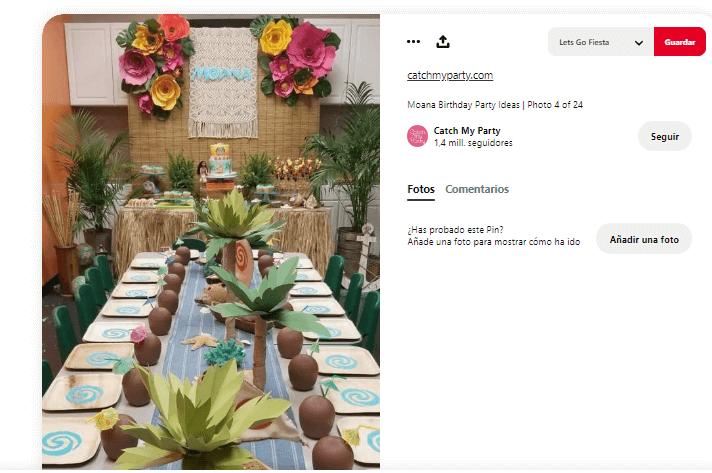 Organizar fiesta de verano bebida fiesta hawaiana mesa