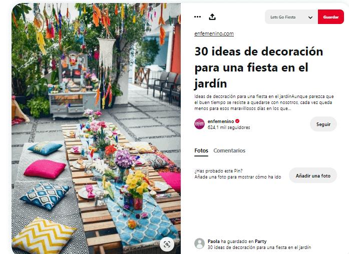 Organizar fiesta de verano decorar mesa hippie
