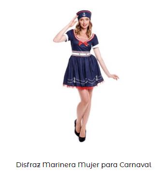 Organizar fiesta de verano disfraz marinera