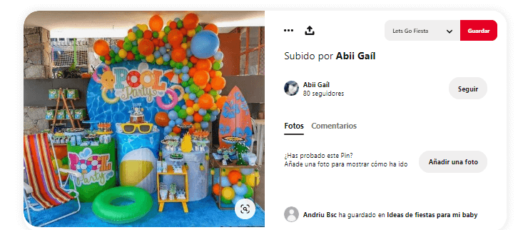 Organizar fiesta de verano fiesta agua globos
