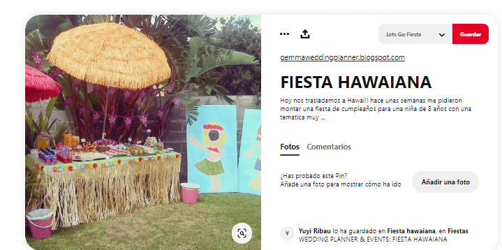 Organizar fiesta de verano hawaiana ideas