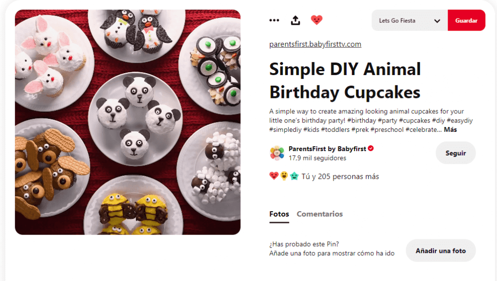 Recetas cupcakes faciles para niños