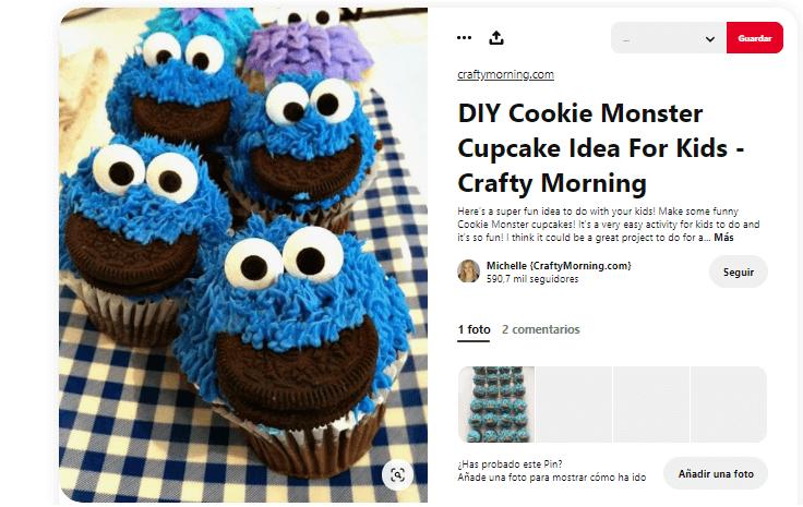 Recetas cupcakes faciles para niños monstruo galletas