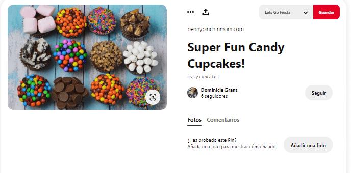 Recetas cupcakes faciles para niños toppings