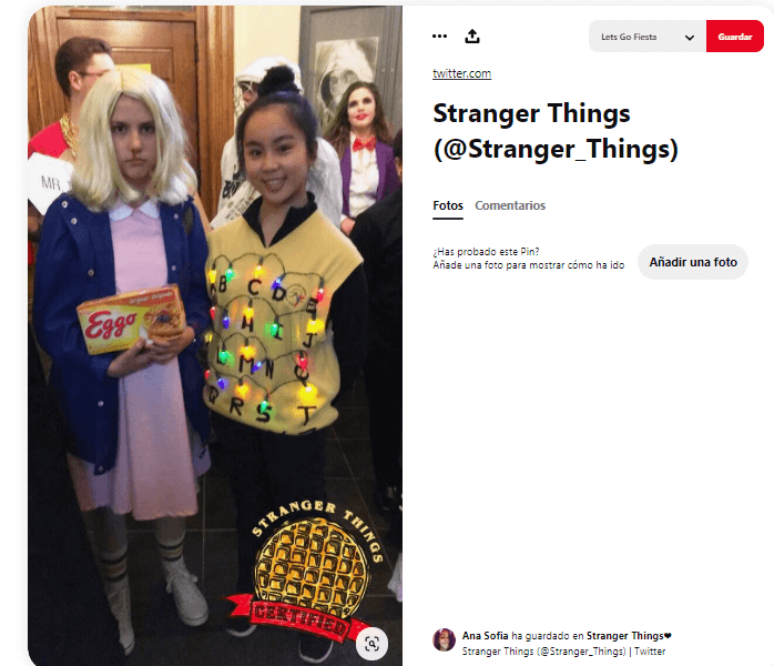 Stranger things disfraces caseros para niños