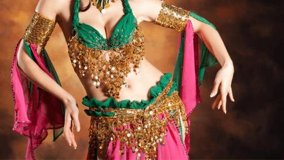 danza del vientre oriental disfraz bellydance mujer niña