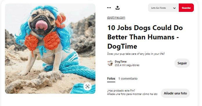 disfraces para perros sirena