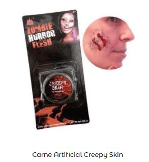 Como hacer disfraz eduardo manostijeras casero maquillaje cicatriz