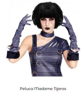Como hacer disfraz eduardo manostijeras casero peluca