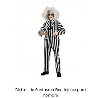 Disfraces de Beetlejuice hombre