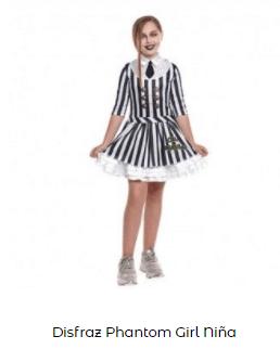 Disfraces de Beetlejuice niña