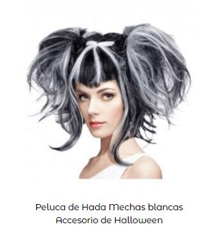 Disfraces de Beetlejuice peluca coletas