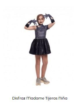 Disfraz eduardo manostijeras para niños