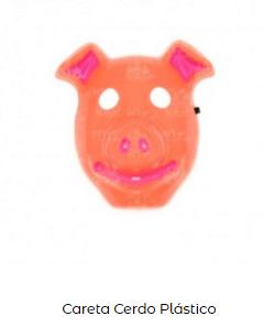 Disfraz saw halloween máscara careta cerdo