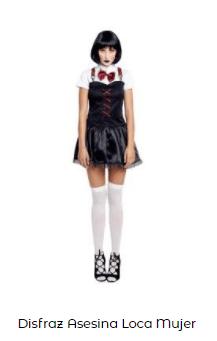 Disfraz saw halloween mujer
