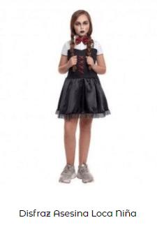 Disfraz saw halloween niña