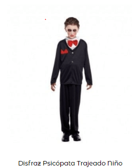 Disfraz saw halloween niño