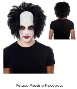 Disfraz saw halloween pelo