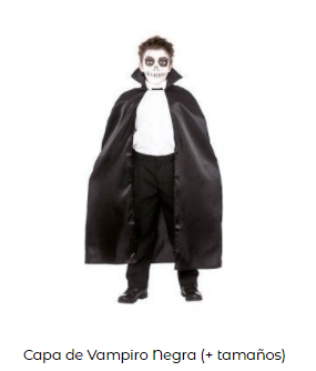 Mascarillas con dibujos Halloween V Vendetta capa