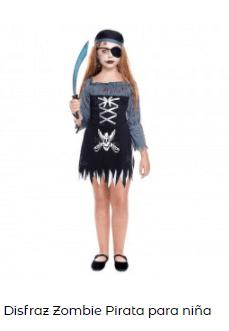 Mascarillas con dibujos Halloween sonrisa cosida disfraz pirata zombi