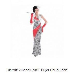 Mascarillas con dibujos Halloween labios sexys cruella de vil disfraz