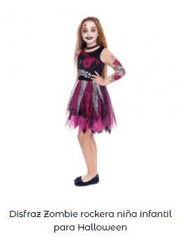 Mascarillas con dibujos Halloween labios sexys disfraz rockera zombi